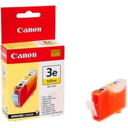 Зображення Картридж Canon BCI-3eY Yellow для BJC-3000/6000/6100/6200/6500, BJ-i550/i850/i6500, S400/450/4500/500/520/600/630/6300/750, SmartBase MPC400/600F/MP700Photo/MP730