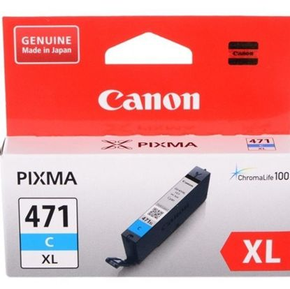 Зображення Картридж Canon CLI-471C XL PIXMA MG5740/MG6840 Cyan
