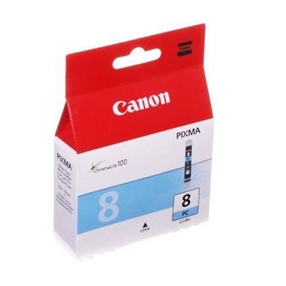 Зображення Картридж Canon CLI-8PC (Photo Cyan) для iP4200/4300/4500/5200 5300/6600D, MP500/530/800/830, Pro9000